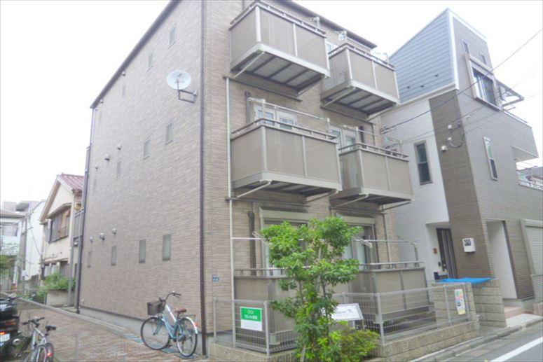 南蒲田1丁目 1K 2階